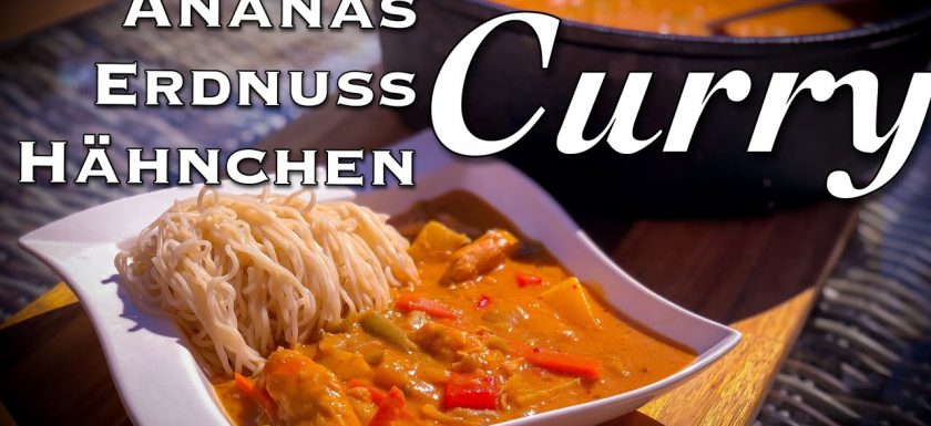 Ananas Erdnuss Curry
